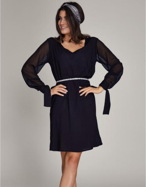 Sukienka ELEONORA PORTERA z szyfonu