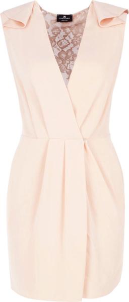 Sukienka Elisabetta Franchi bez rękawów z dekoltem w kształcie litery v