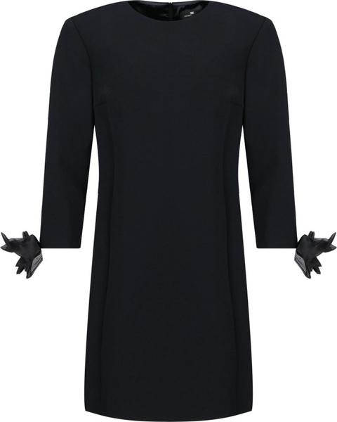 Sukienka Elisabetta Franchi z długim rękawem w stylu casual