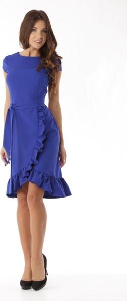 Sukienka Ella Dora z okrągłym dekoltem