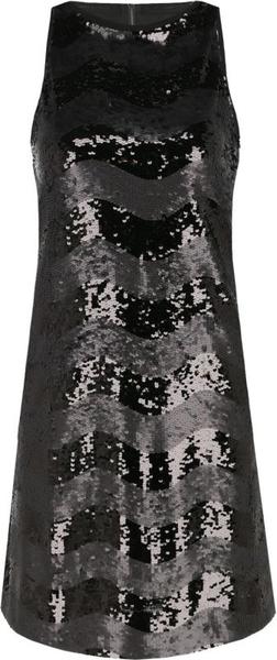 Sukienka Emporio Armani trapezowa bez rękawów w stylu casual