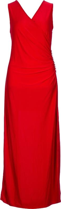 Sukienka Evening Dresses bez rękawów oversize maxi