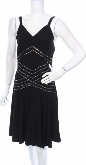 Sukienka Ever-pretty na ramiączkach mini rozkloszowana