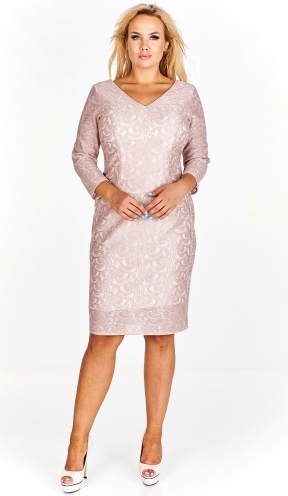 Sukienka EXCLUSIVE midi ołówkowa
