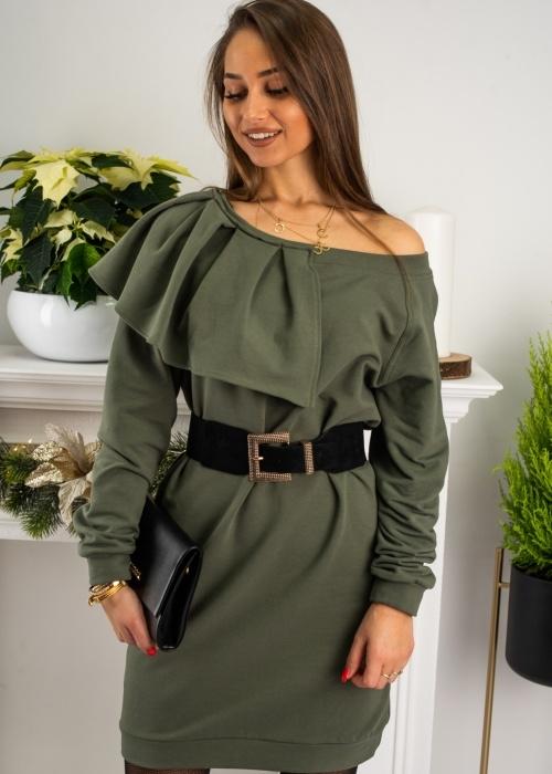Sukienka Fason w stylu casual z długim rękawem mini