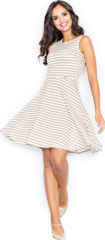 Sukienka Figl bez rękawów rozkloszowana mini
