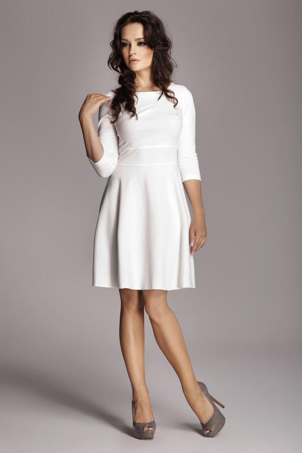 Sukienka Figl z długim rękawem z okrągłym dekoltem
