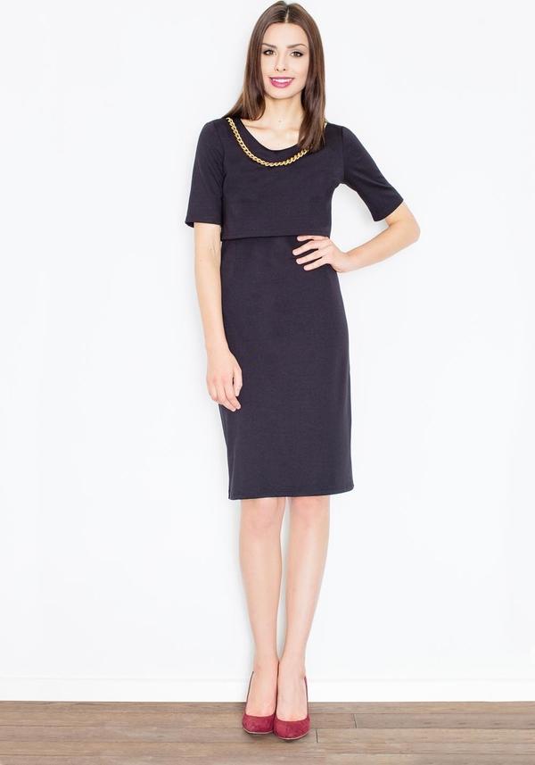 Sukienka Figl z krótkim rękawem midi
