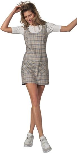 Sukienka Figl z okrągłym dekoltem w stylu casual mini