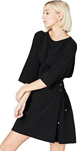 Sukienka Find asymetryczna z długim rękawem