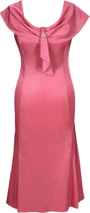 Sukienka Fokus bez rękawów midi