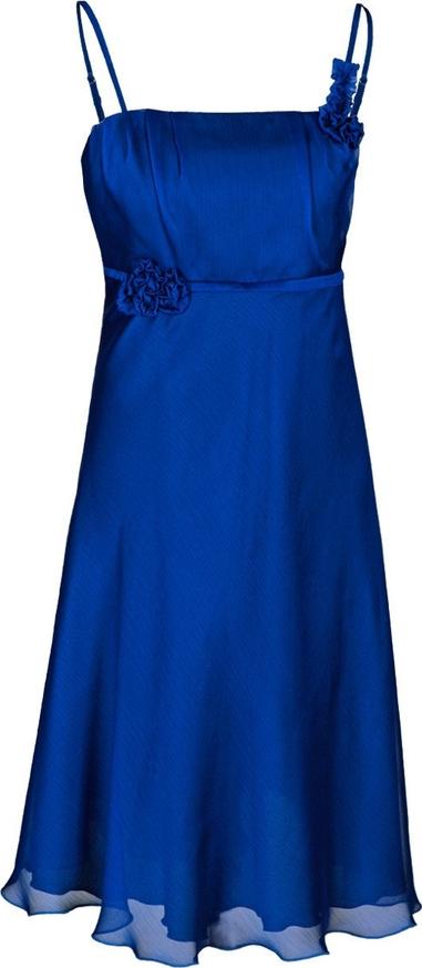 Sukienka Fokus bez rękawów mini w stylu glamour