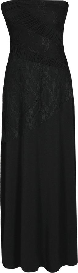 Sukienka Fokus bez rękawów z szyfonu w stylu casual