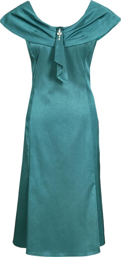 Sukienka Fokus bez rękawów z tkaniny