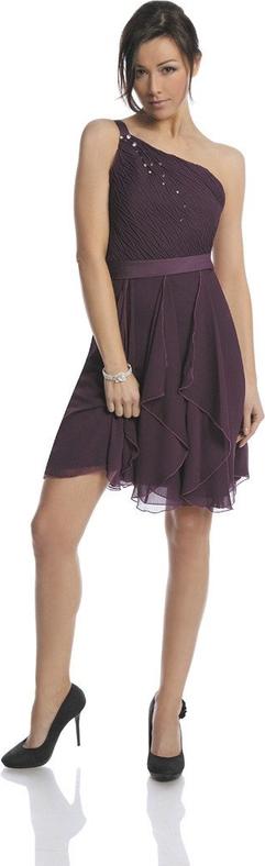 Sukienka Fokus midi bez rękawów z szyfonu