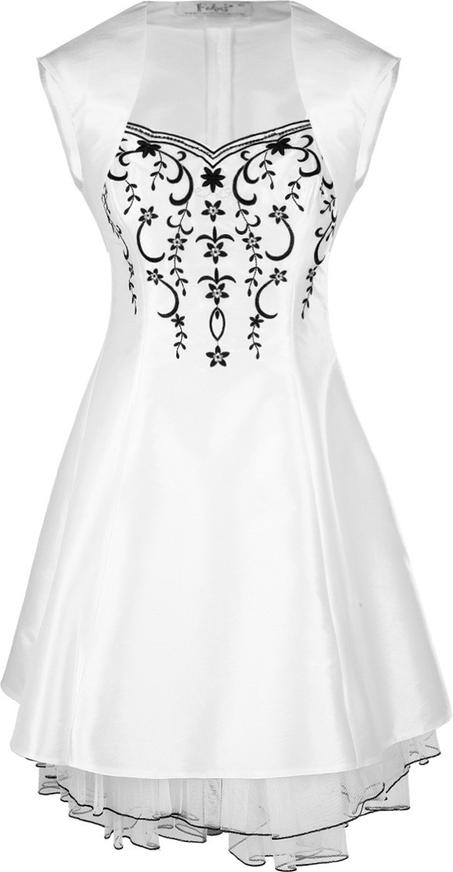 Sukienka Fokus midi rozkloszowana bez rękawów