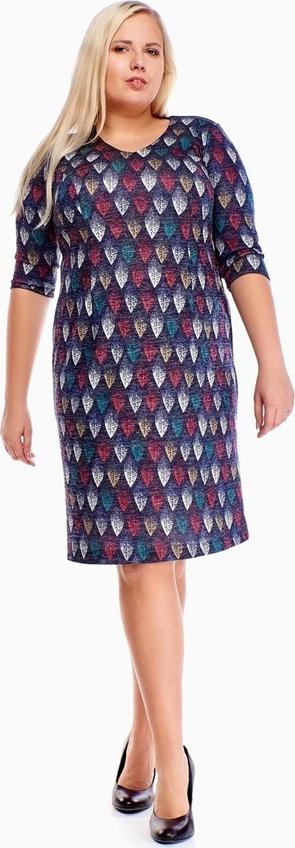 Sukienka Fokus w stylu casual z długim rękawem