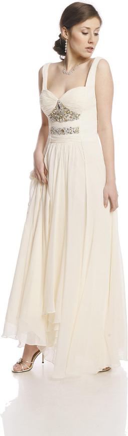 Sukienka Fokus w stylu glamour z szyfonu z dekoltem w karo