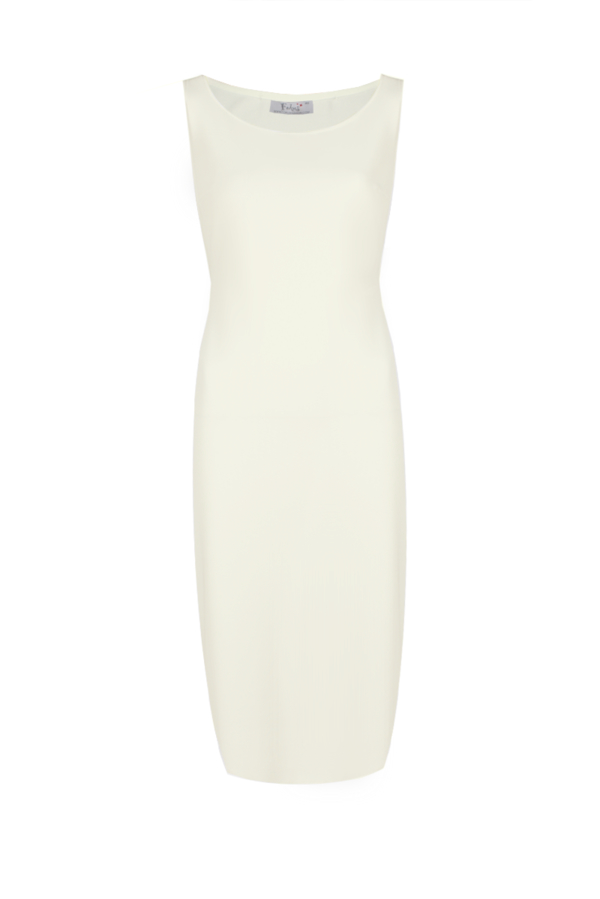 Sukienka Fokus w stylu klasycznym midi z tkaniny