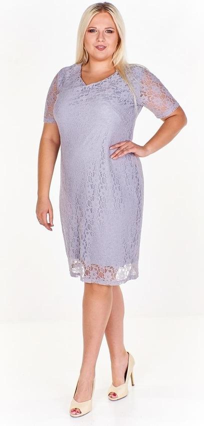 Sukienka Fokus z dekoltem w kształcie litery v mini w stylu klasycznym
