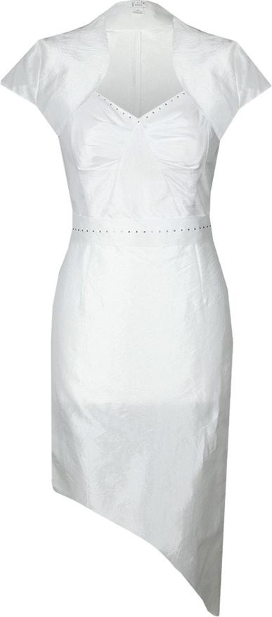 Sukienka Fokus z krótkim rękawem asymetryczna