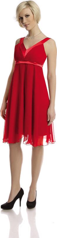 Sukienka Fokus z szyfonu midi