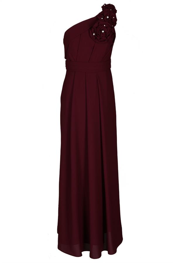 Sukienka Fokus z szyfonu midi bez rękawów