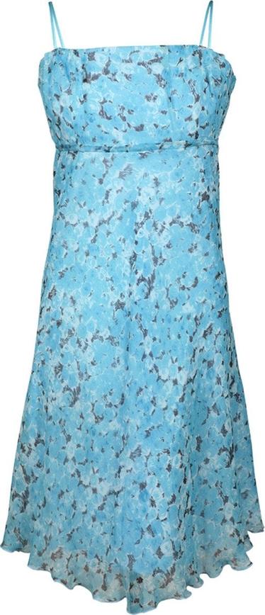 Sukienka Fokus z szyfonu rozkloszowana
