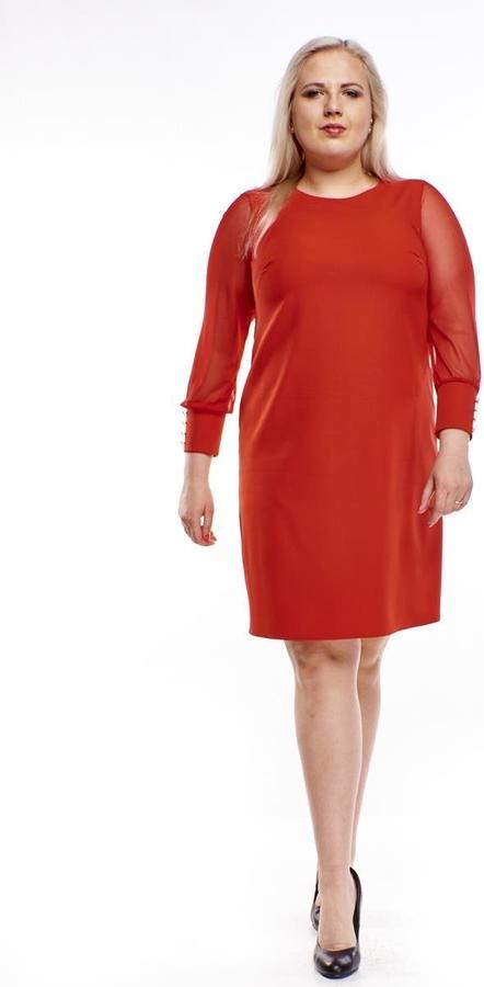 Sukienka Fokus z tkaniny ołówkowa
