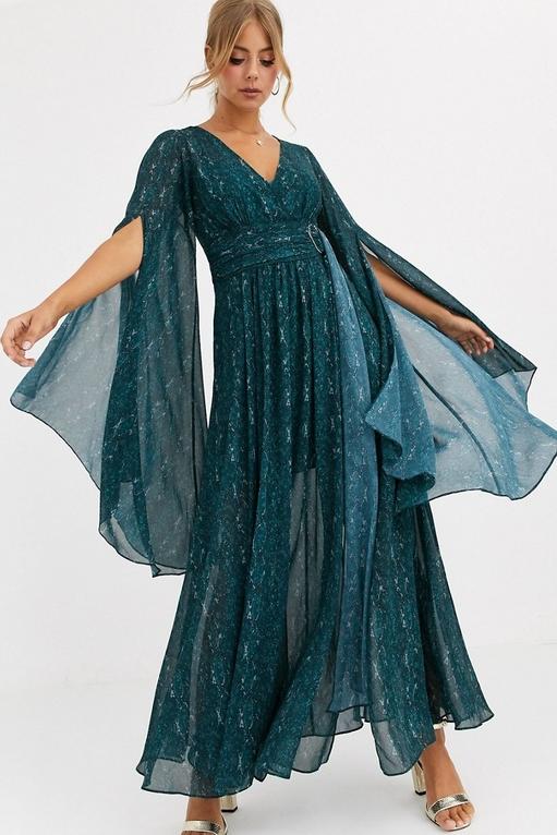 Sukienka Forever New z długim rękawem
