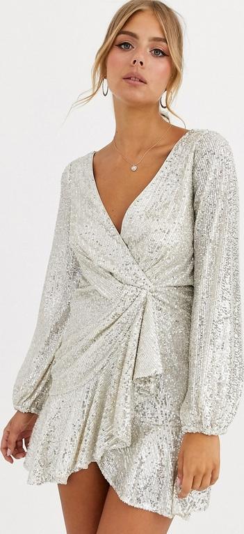 Sukienka Forever New z długim rękawem mini