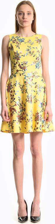 Sukienka Gate bez rękawów mini z okrągłym dekoltem