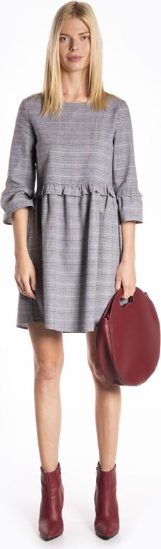 Sukienka Gate w stylu casual z bawełny