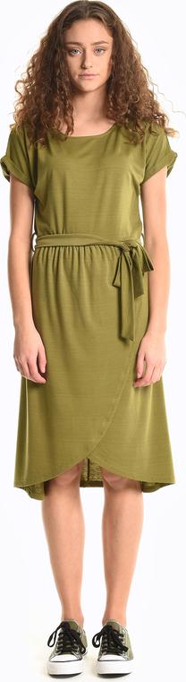 Sukienka Gate z krótkim rękawem midi