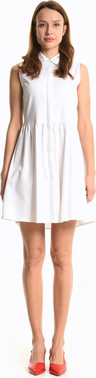 Sukienka Gate z lnu mini koszulowa