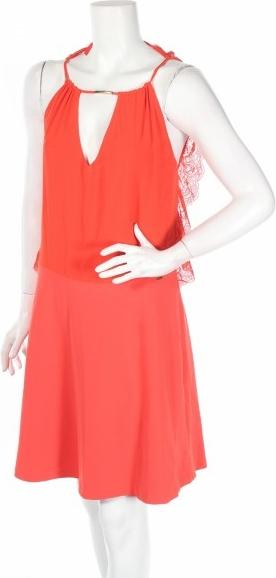 Sukienka Gaudi bez rękawów mini rozkloszowana