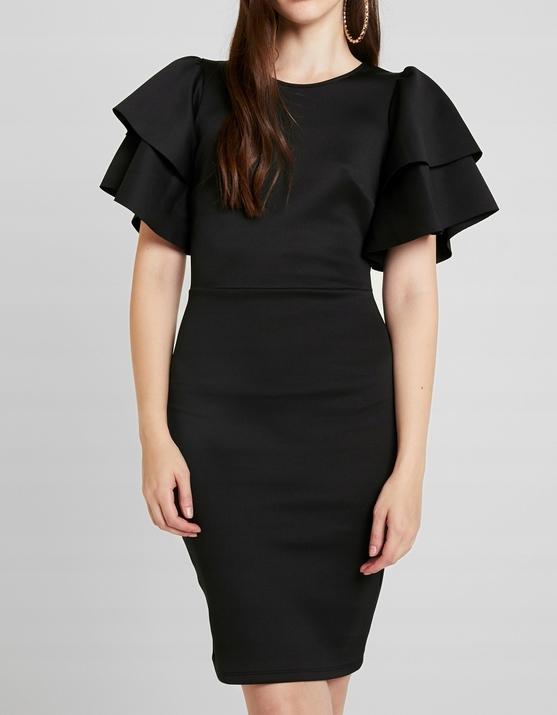 Sukienka Gina Tricot z okrągłym dekoltem