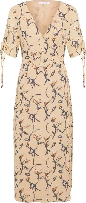 Sukienka Glamorous z dekoltem w kształcie litery v w stylu casual z krótkim rękawem