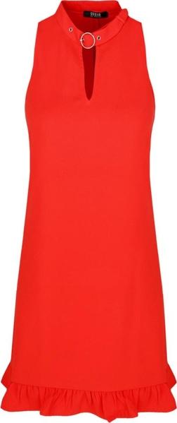 Sukienka Guess bez rękawów mini