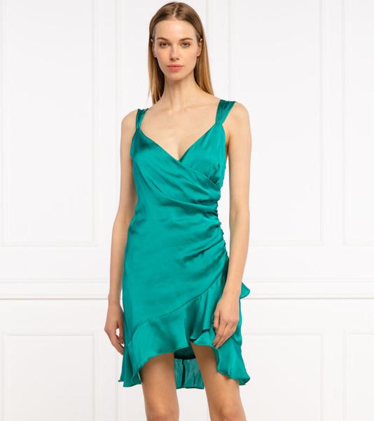Sukienka Guess mini asymetryczna