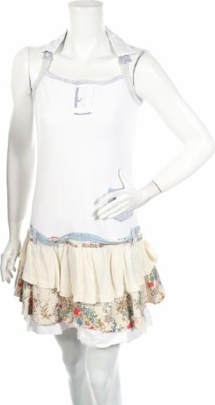 Sukienka Guru mini rozkloszowana bez rękawów