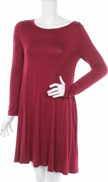 Sukienka Himone z długim rękawem