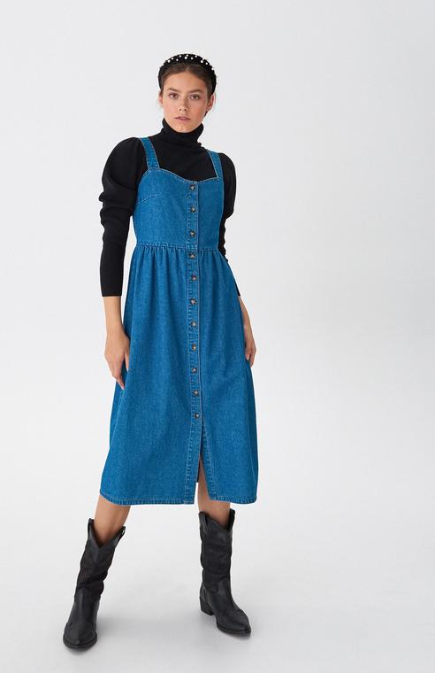 Sukienka House midi z jeansu