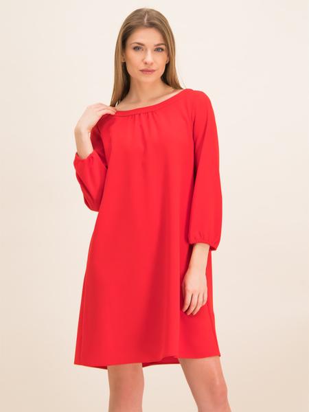 Sukienka iBlues mini z długim rękawem z okrągłym dekoltem
