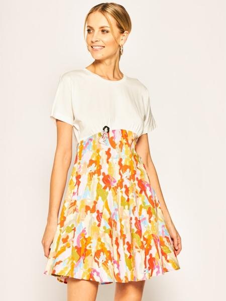 Sukienka iBlues mini z krótkim rękawem