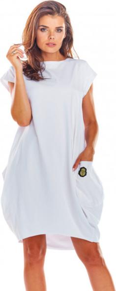 Sukienka Infinite You mini oversize z krótkim rękawem