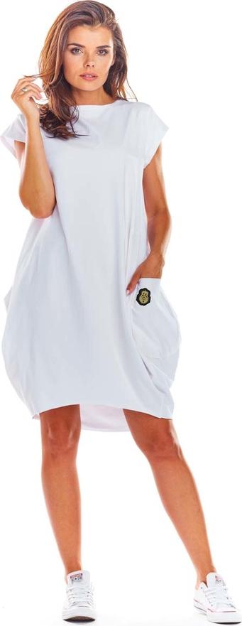 Sukienka Infinite You z bawełny w stylu casual oversize