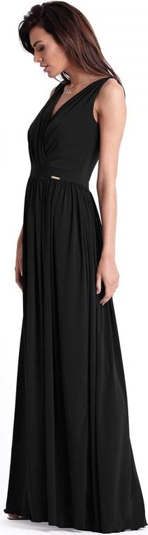 Sukienka Ivon maxi z tkaniny