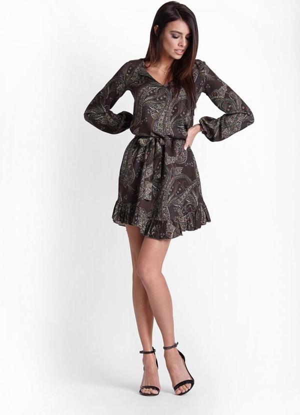 Sukienka Ivon mini rozkloszowana