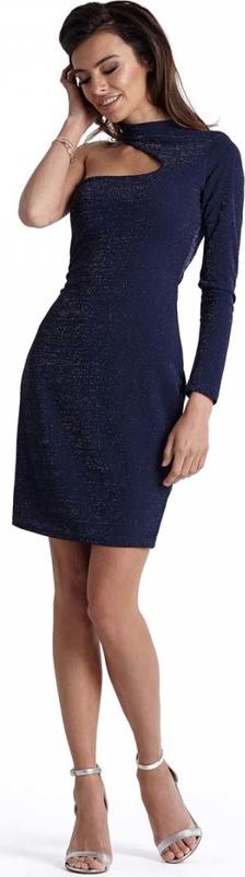 Sukienka Ivon z dekoltem typu choker
